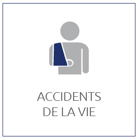 PARTICULIERS : Accidents de la vie